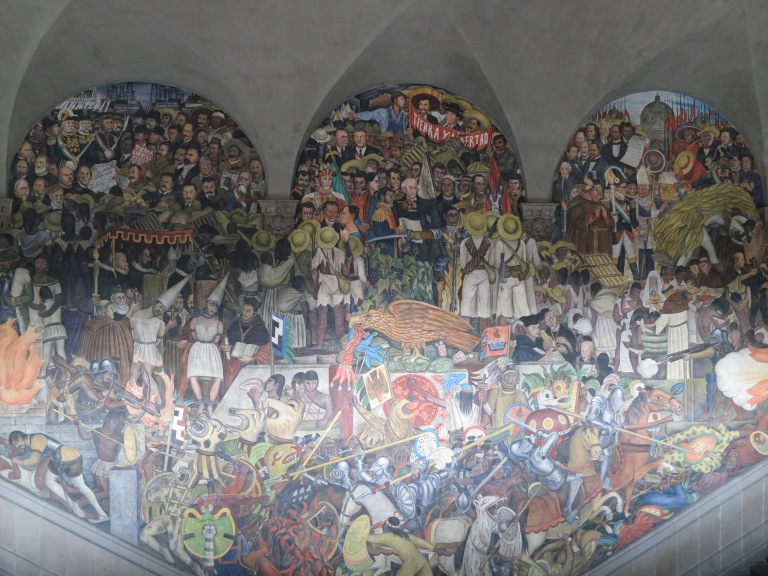 4 places to see diego rivera s murals in mexico city for Emiliano zapata mural