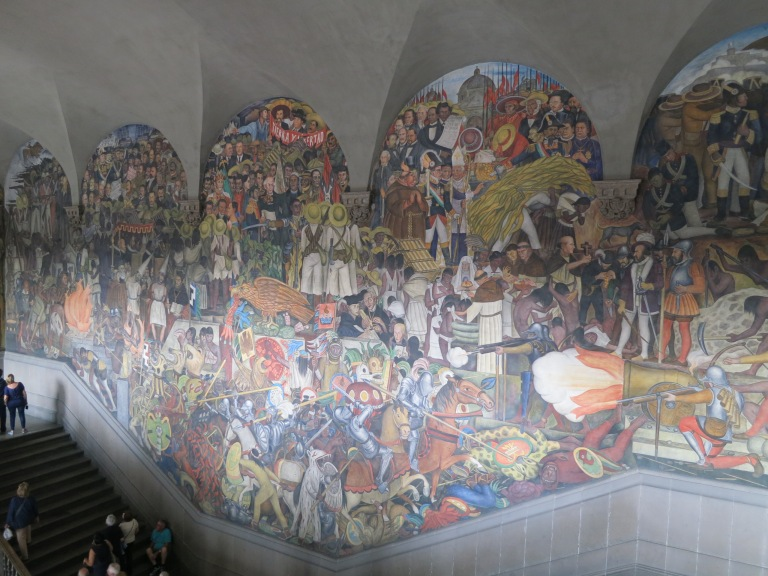 4 places to see diego rivera s murals in mexico city for Diego rivera mural 1929